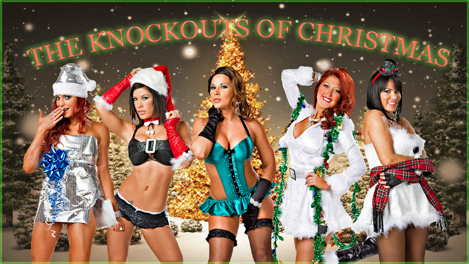The Knockouts of Christmas wp