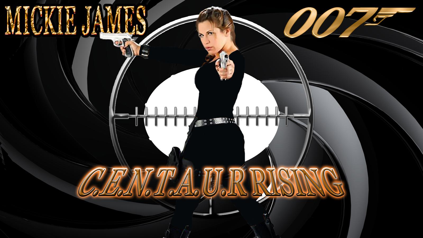 Mickie James - 007 C.E.N.T.A.U.R RISING wp