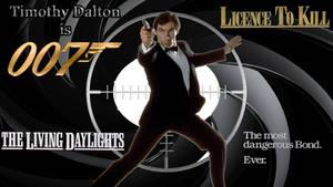 Timothy Dalton - 007 wp by SWFan1977