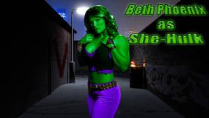 Beth Phoenix as SHE-HULK wp