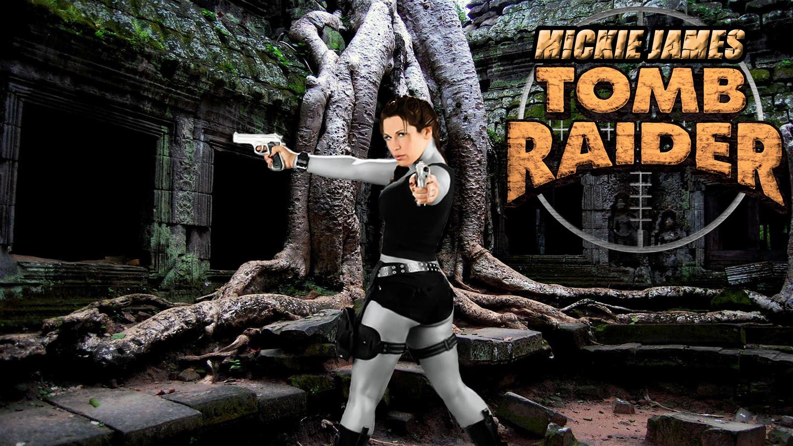 Mickie James Tomb Raider wp 2