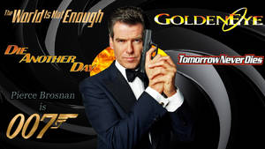 Pierce Brosnan - 007 wp