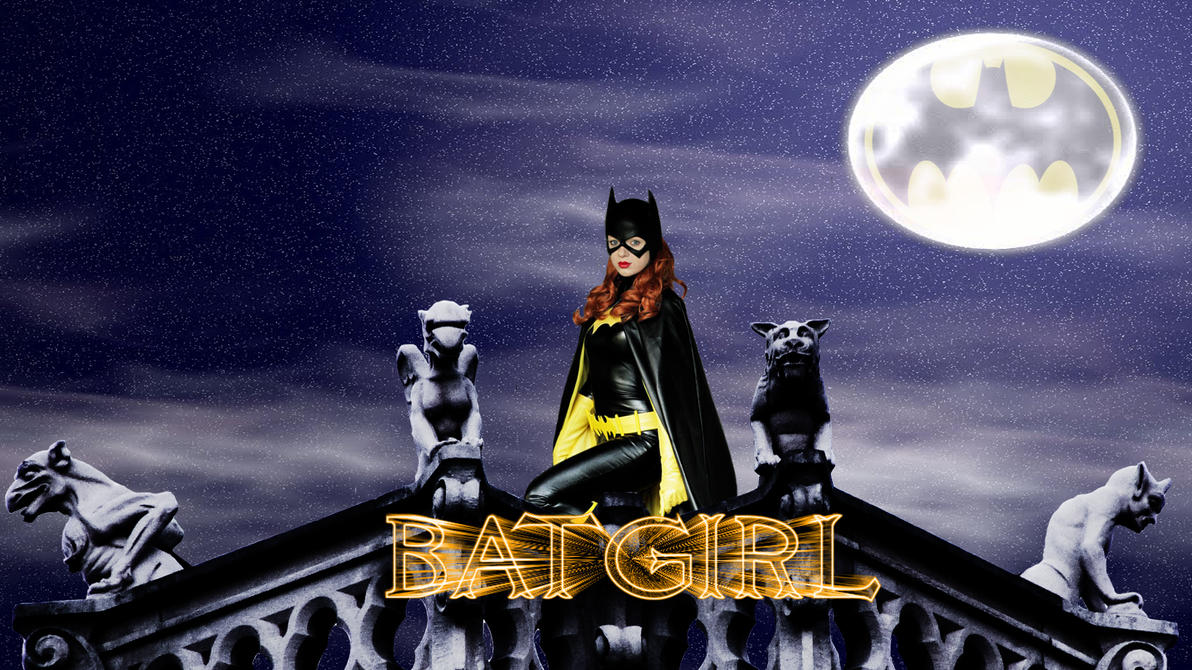 Batgirl cosplay wp by SWFan1977