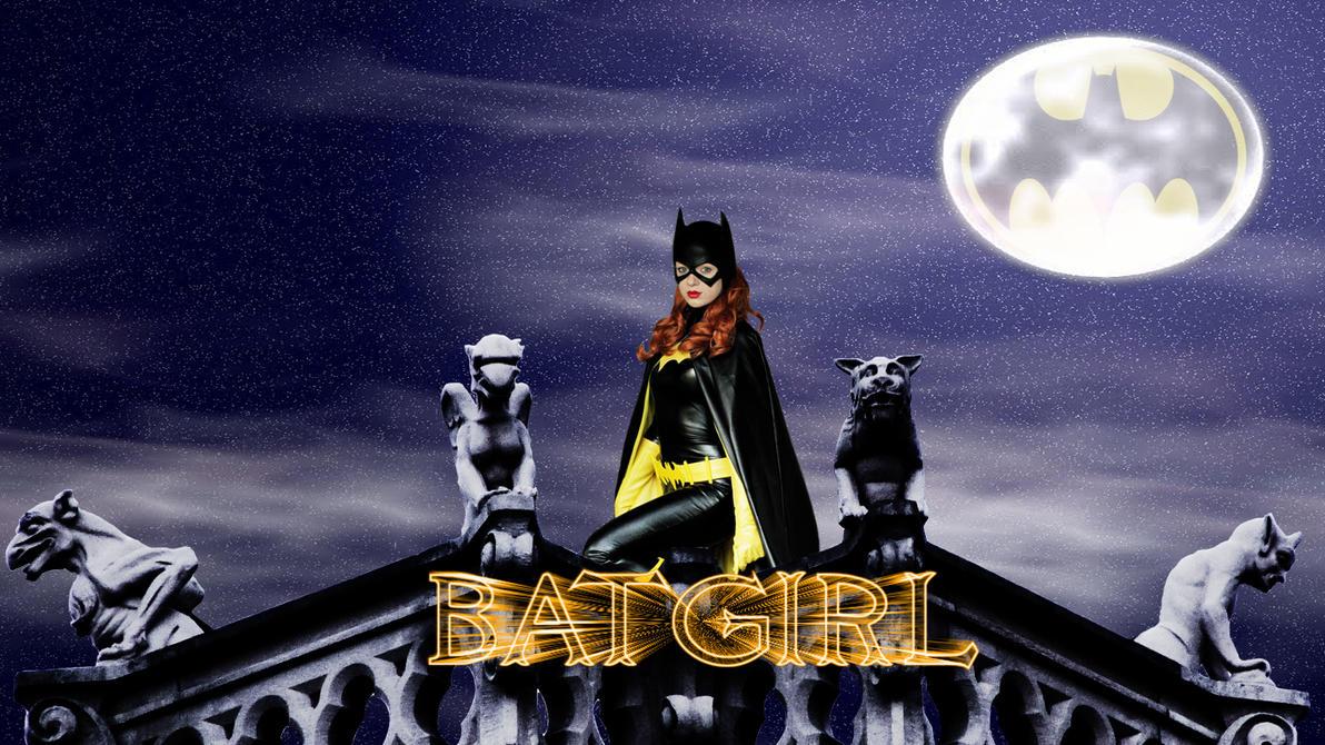 Batgirl cosplay wp by SWFan1977