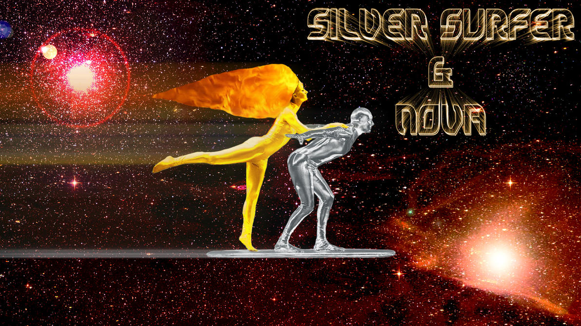 silver surfer and nova cosplay wallpaperswfan1977 on deviantart