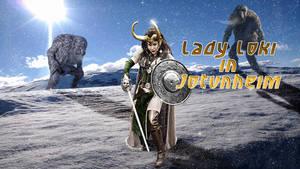 Lady Loki in Jotunheim day time variant