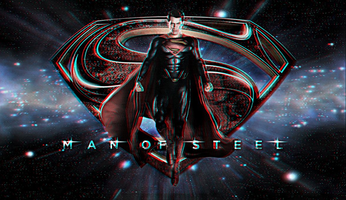Man Of Steel Wp 2 In 3D By Geosammy SWFan1977