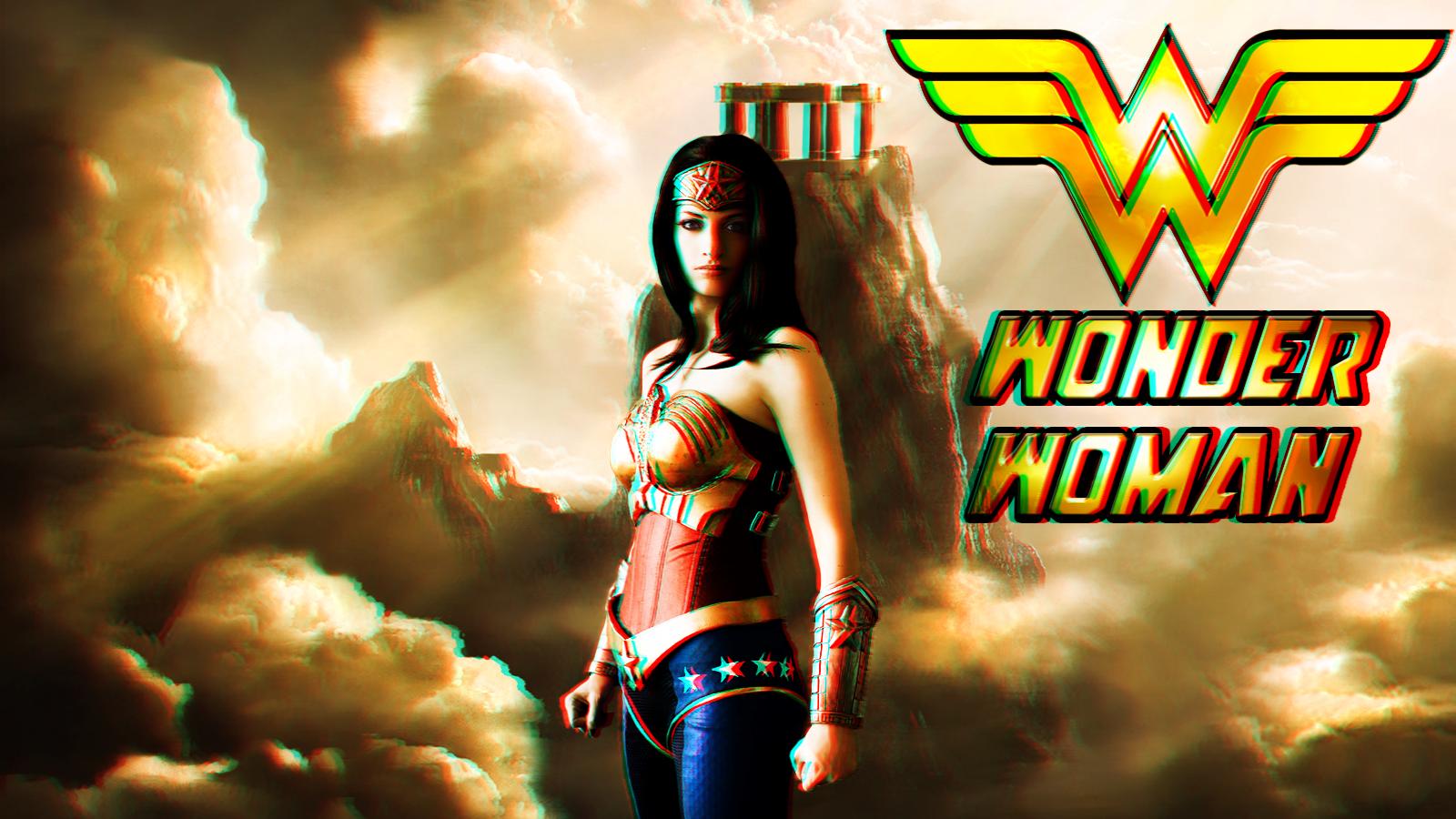 Wonder Woman cosplay wp 2 In 3D by SWFan1977