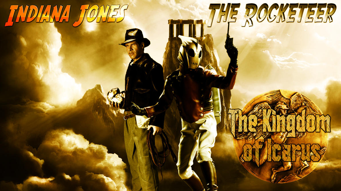 Indiana Jones and the Rocketeer wp by SWFan1977