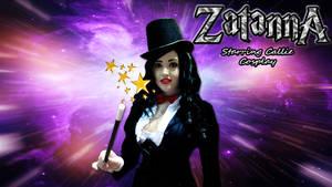 Zatanna  wp starring Callie Cosplay