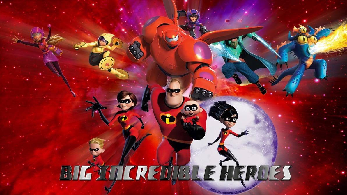 Big Incredible Heroes wp by SWFan1977