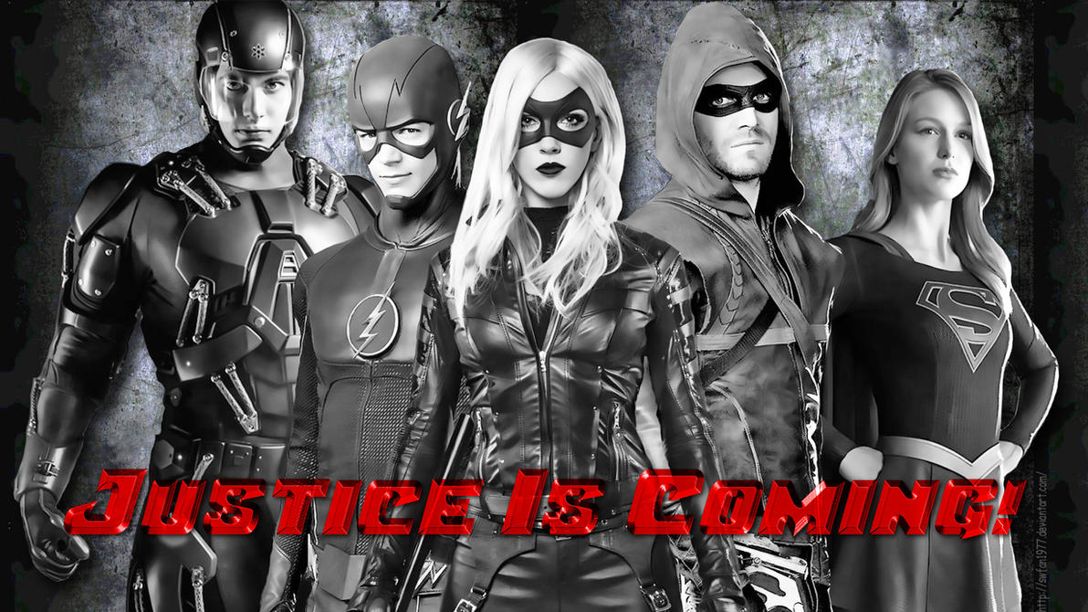 DC - Justice is Coming wp by SWFan1977