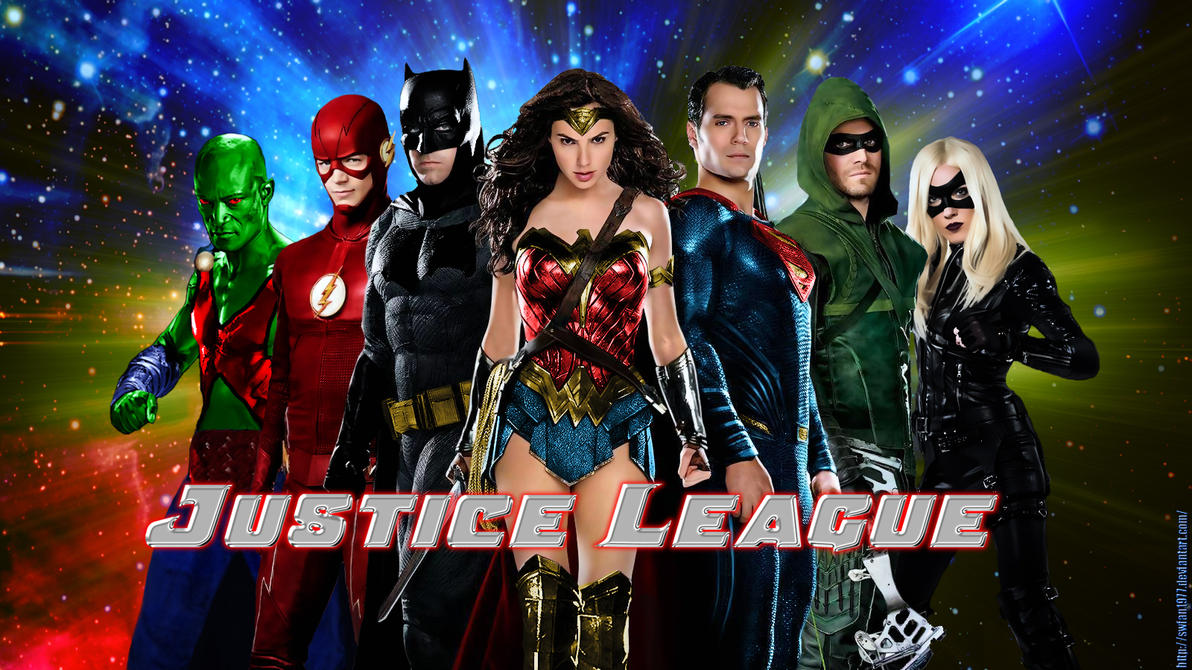 Justice League wp by SWFan1977