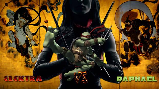 Elektra vs Raphael