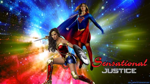 Wonder Woman/Supergirl - Sensational Justice wp