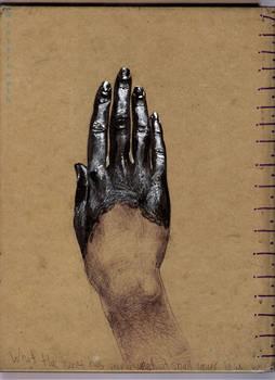 Back of sketchbook 2012