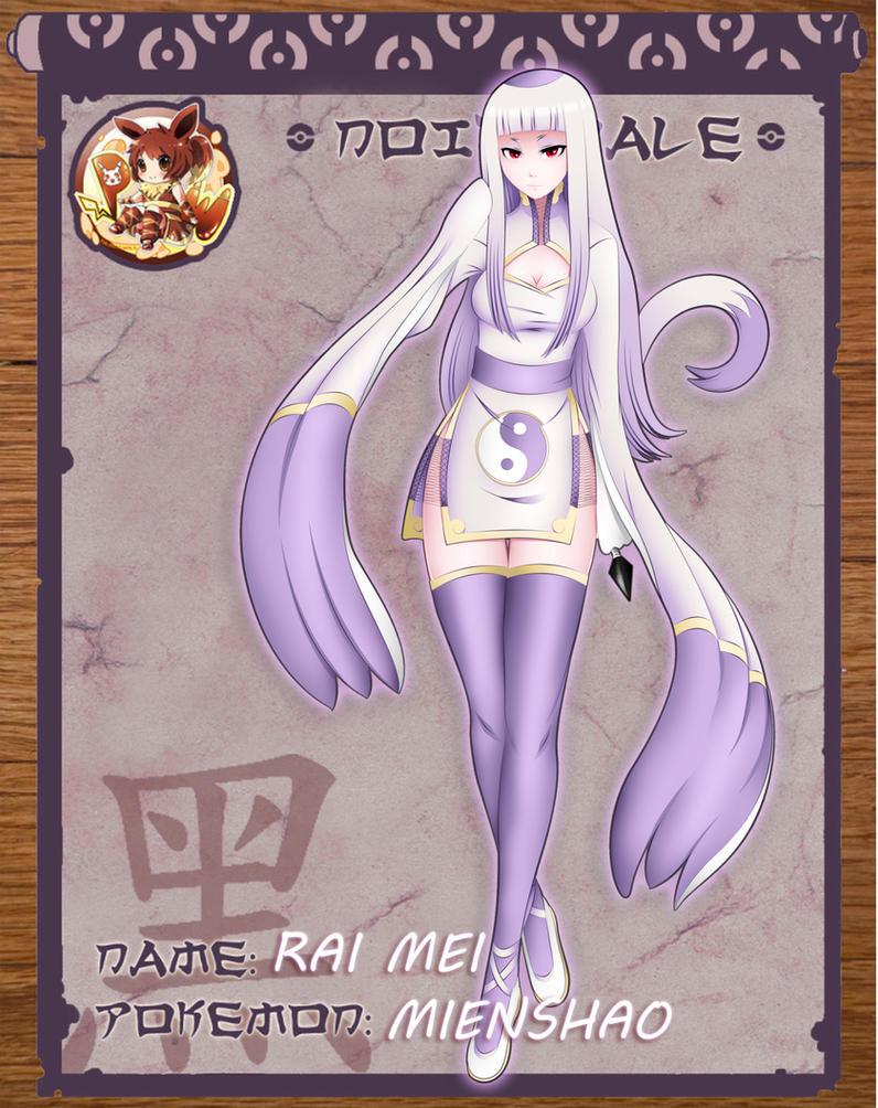 Rai Mei Pokimono by XD-Liquid-Rayne-OX