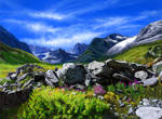 Beauty of mt. by abyss1956