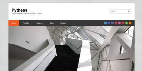 Pytheas Free Responsive Portfolio WordPress Theme by wpwk