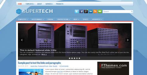 SuperTech Free WordPress Theme by wpwk