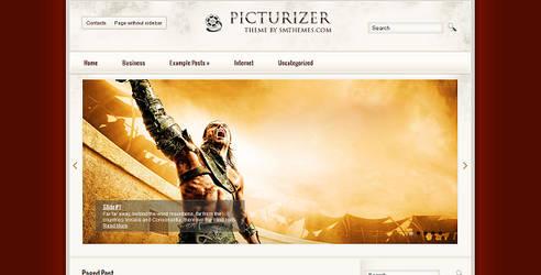 Picturizer Free WordPress Theme by wpwk