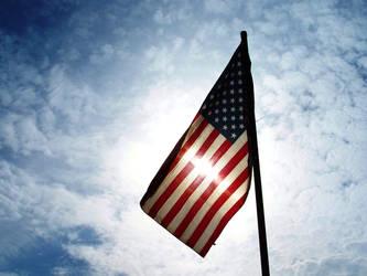 Patriotism Bleeding Through by SilentStar