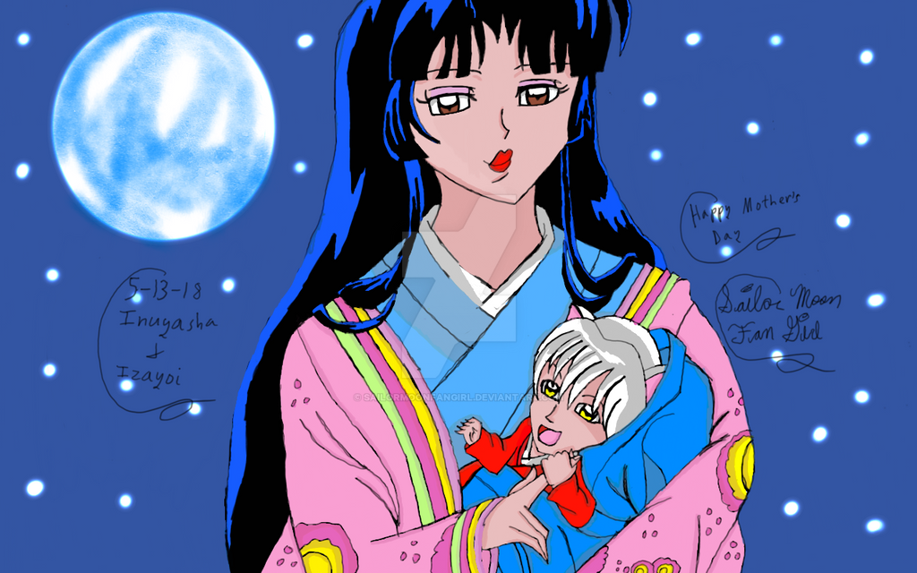 Happy Mother S Day From Inuyasha 2 By Sailormoonfangirl On Deviantart