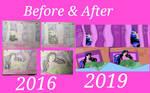 Draw It Again: 2016-2019 Izayoi by SailorMoonFanGirl