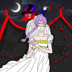 Brooklyn And Savannah As Tuxedo Mask And Serena by SailorMoonFanGirl