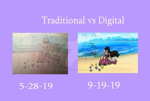 Traditional VS Digital Fuji 2019