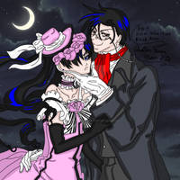 Ciel And Sebastian by SailorMoonFanGirl
