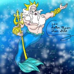 Mermay Art Challenge 2021 King Triton: Day 10