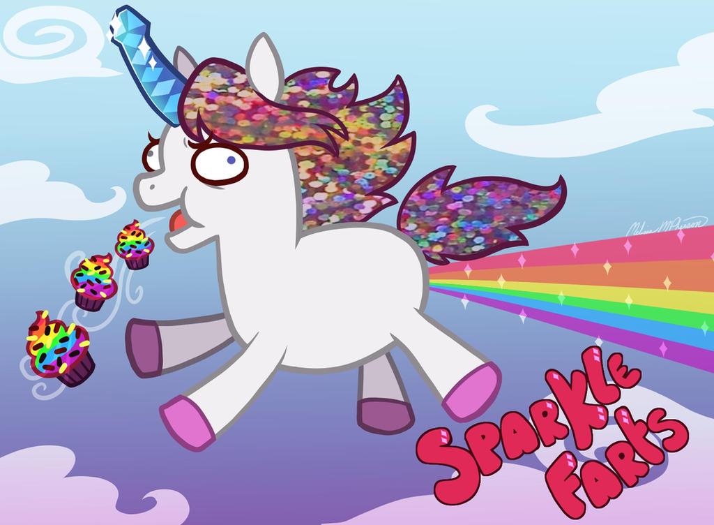 Mr. Sparkle Farts by Pocki07
