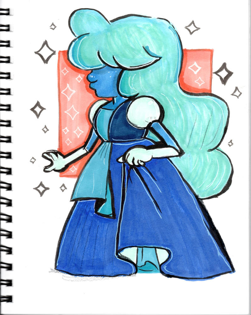 Sapphire from Steven Universe