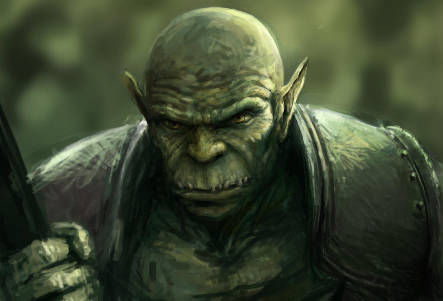 Orc by joeshawcross