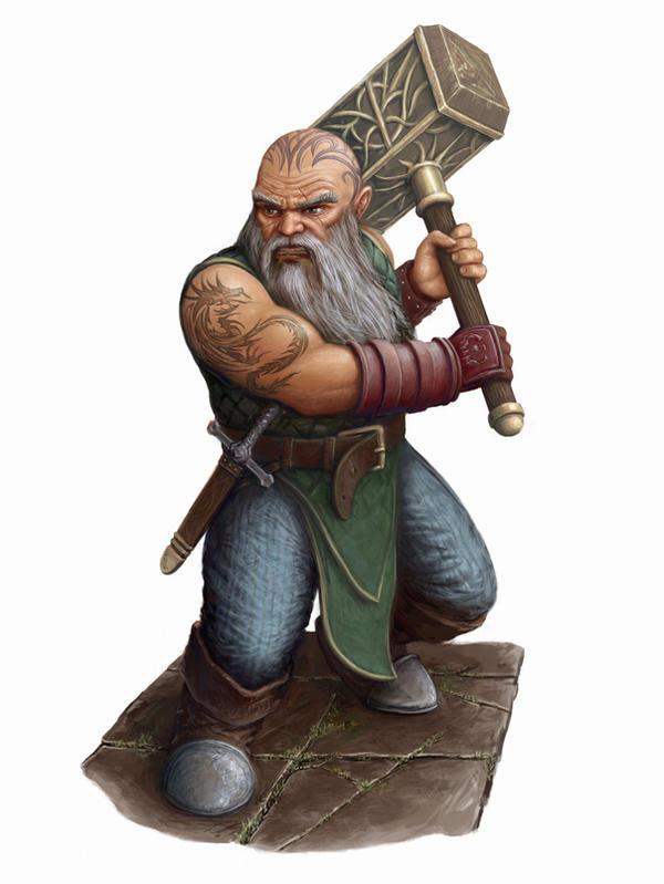 Dwarf by SHAWCJ