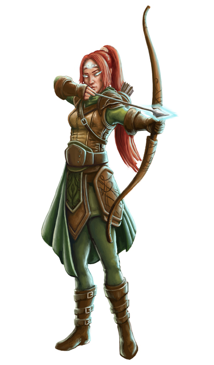 mystic archer by joeshawcross on deviantart