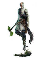 Forgeborn Scholar by joeshawcross
