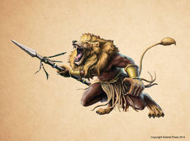 Werelion Fighter by joeshawcross