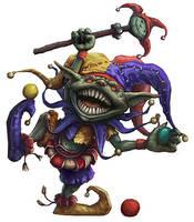 Goblin Jester by joeshawcross