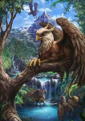 Griffins by joeshawcross