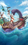 Giant Serpent by joeshawcross