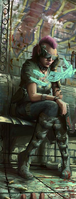 Cyberpunk Sketch