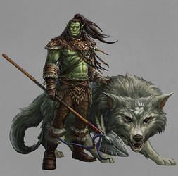 Orc Druid by joeshawcross