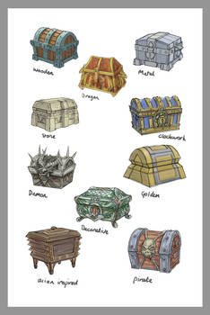 Treasure Chest Concepts