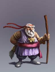 Dwarf Cleric by joeshawcross