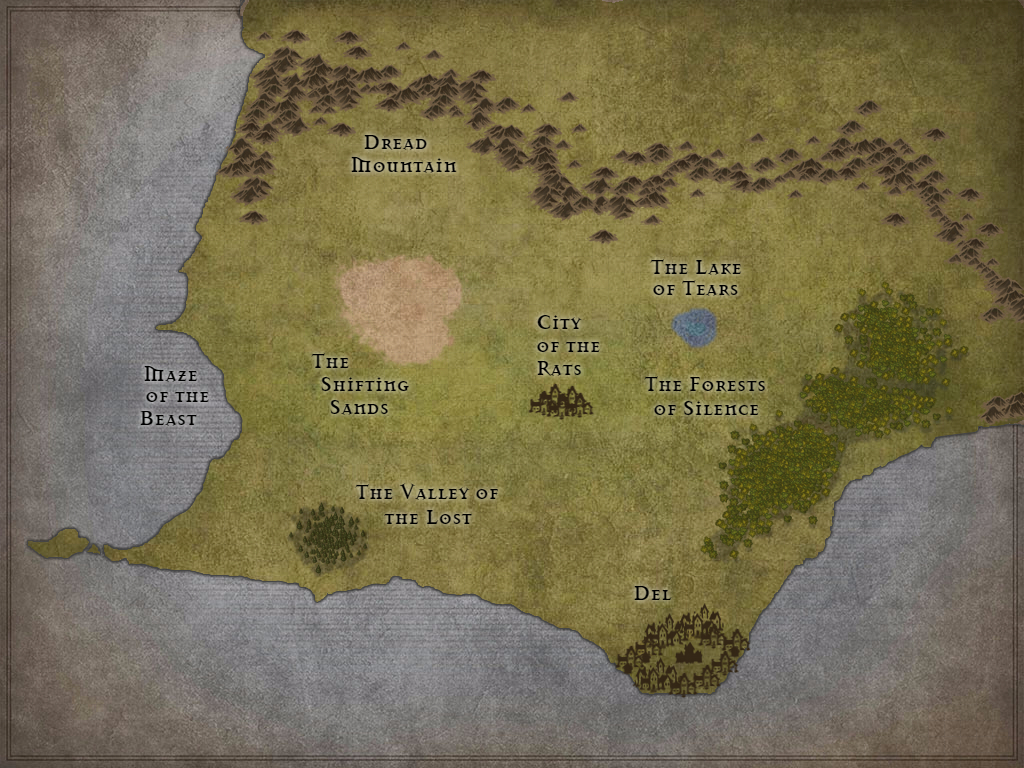 Deltora Map by Hauris on DeviantArt on