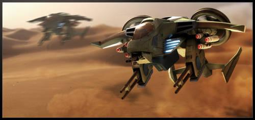 UNSC Sparrowhawk, Halo Fan Art