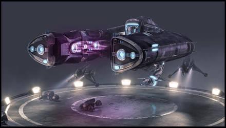 Halo Wars: Spirit Dropship