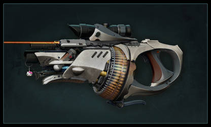 Gun with Nade Launcher